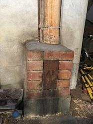 五右衛門風呂の煙突